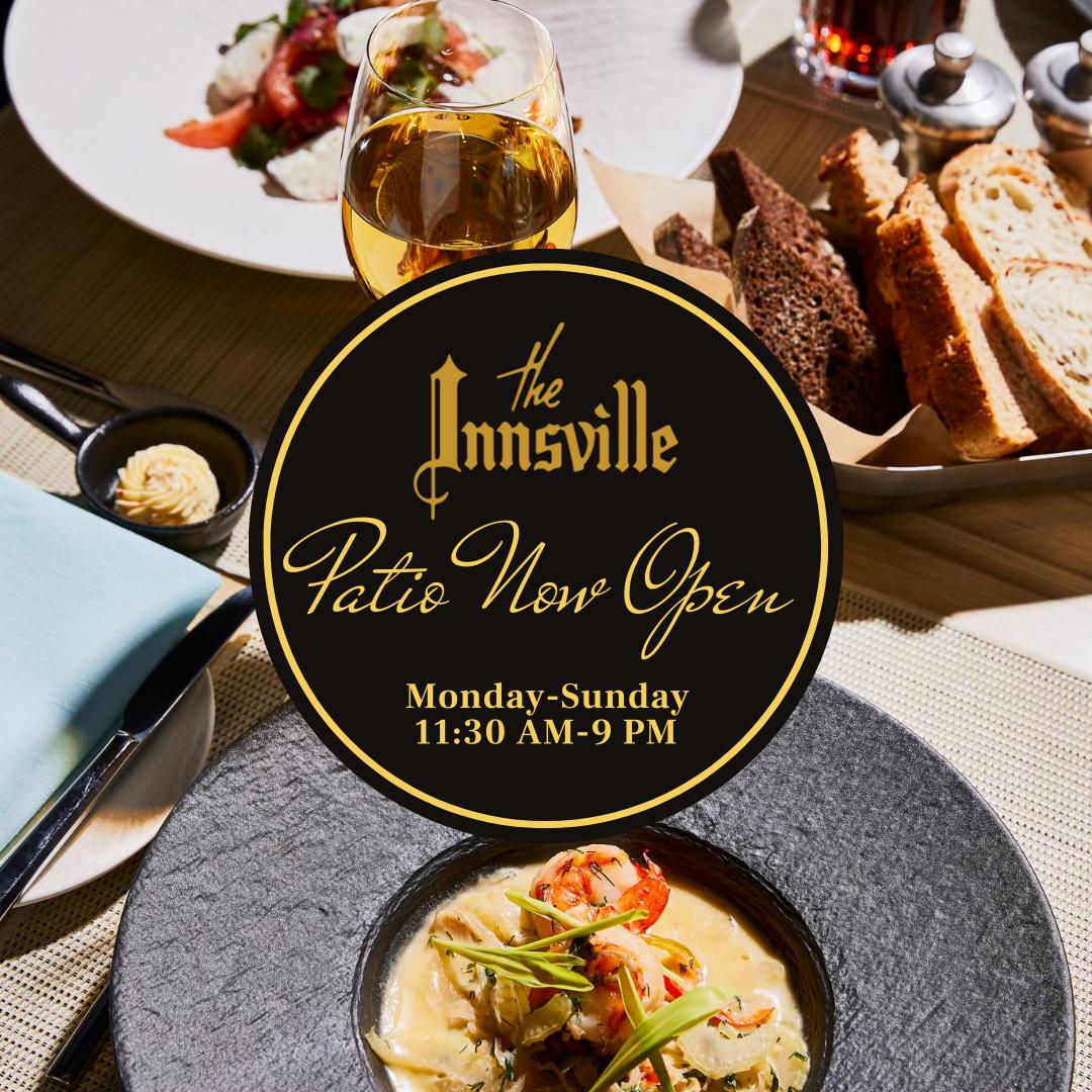 Innsville Patio Now Open