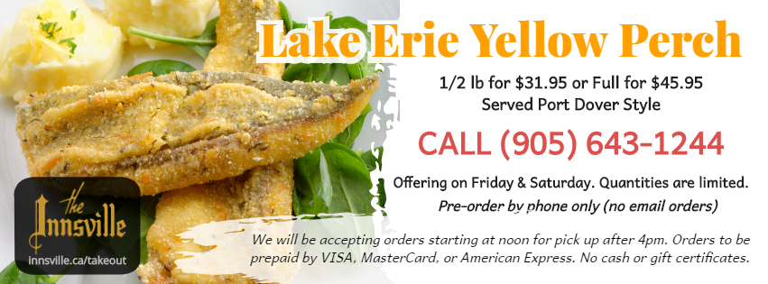 Lake Erie Yellow Perch Special