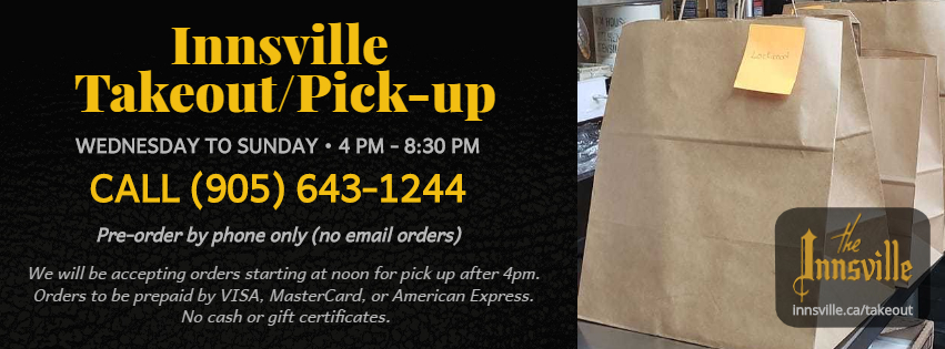 Innsville Takeout/Pick-up
