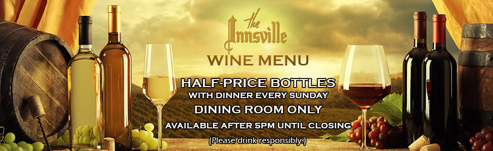 Innsville Wine Menu